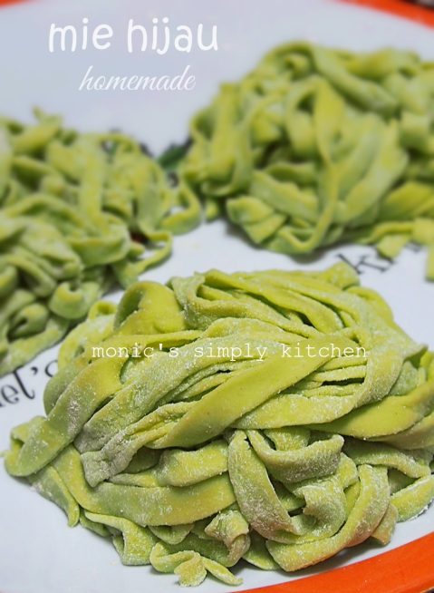 resep mie hijau homemade