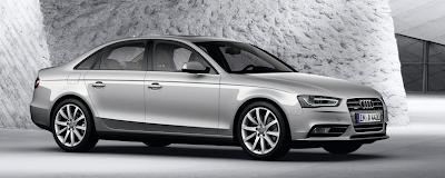2013 Audi A4 sedan grey