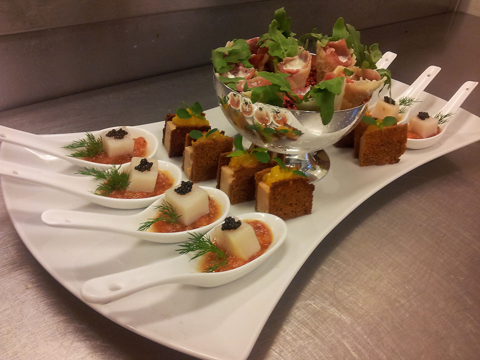 Gergo gullner 39 s food experimentations for Canape foie gras