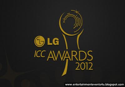LG ICC Awards 2012