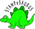 Stamp o Saurus