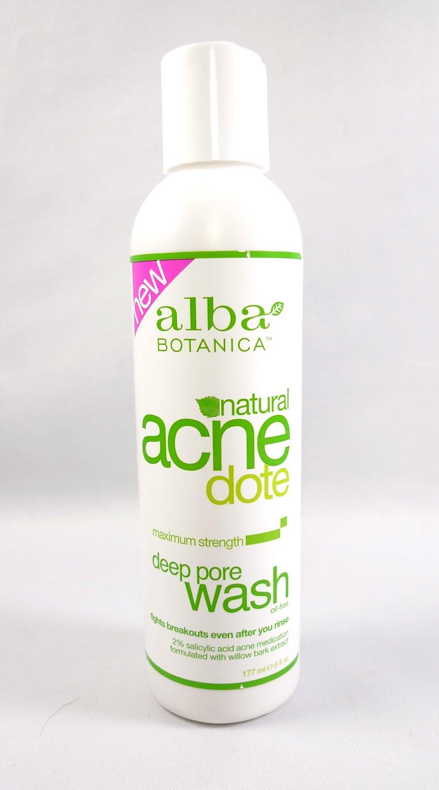 Alba botanica acnedote review