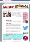 nuestro blog en el boletín de educación