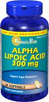 Puritan's Pride Alpha Lipoic Acid