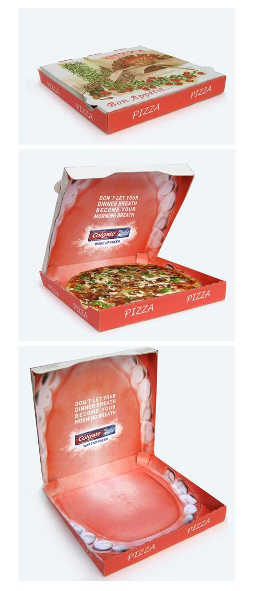 Colgate Max Night: Pizza Box