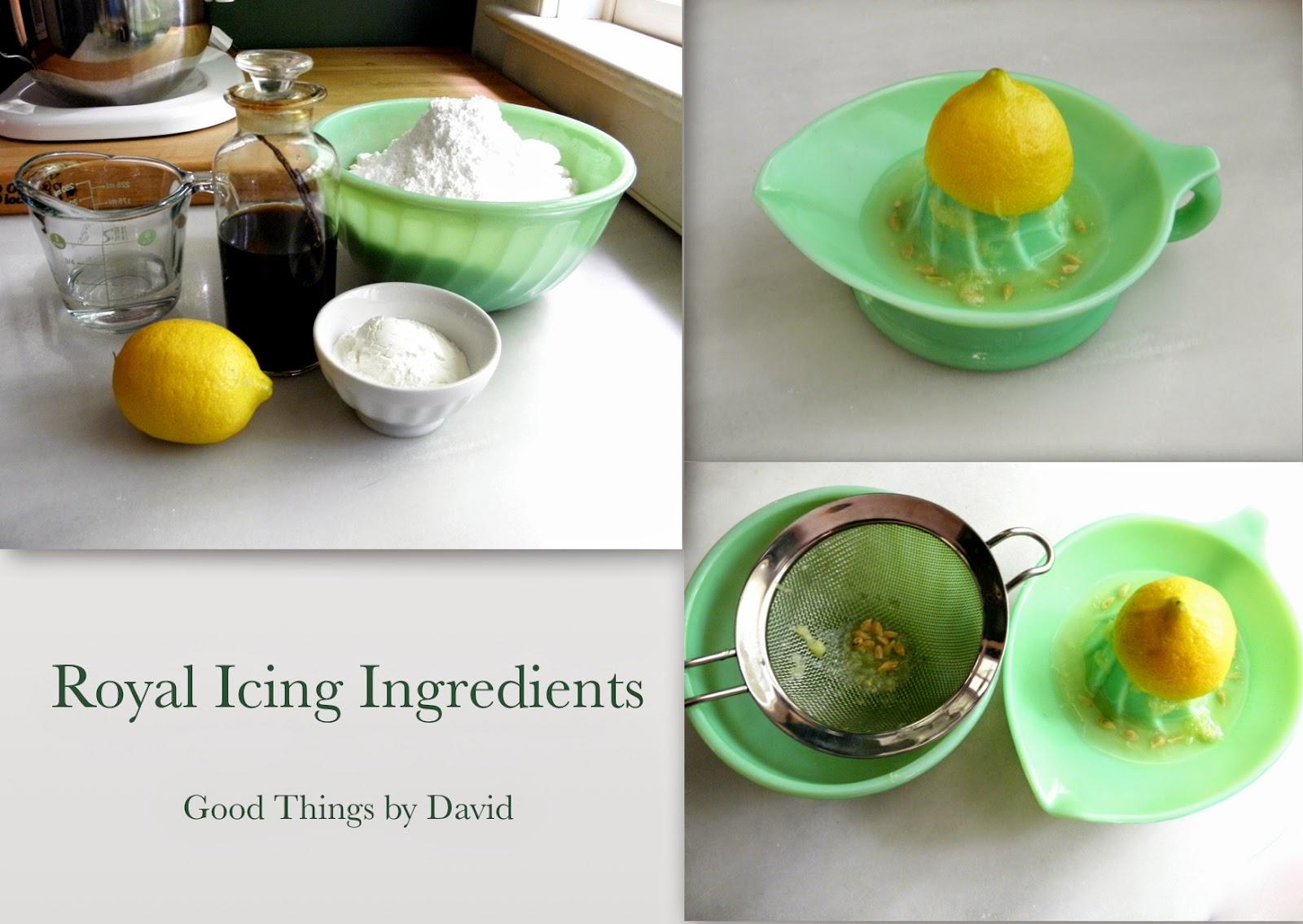 Good Things by David: Perfect Royal Icing