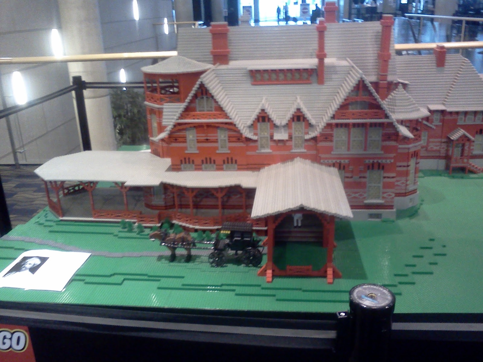Mark Twain Lego House