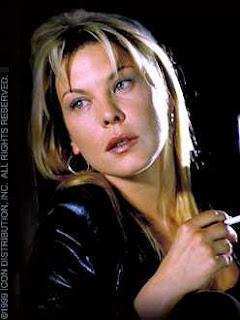 Deborah Kara Unger Smoking Cigarettes