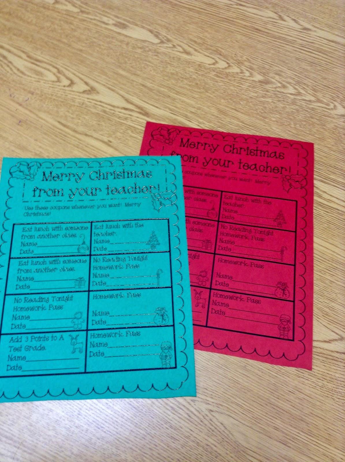 Super Second Grade Smarties: Free Christmas Activities- Twelve Days ...