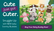 Adorable Scentsy Buddies