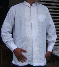 baju koko bordir baru