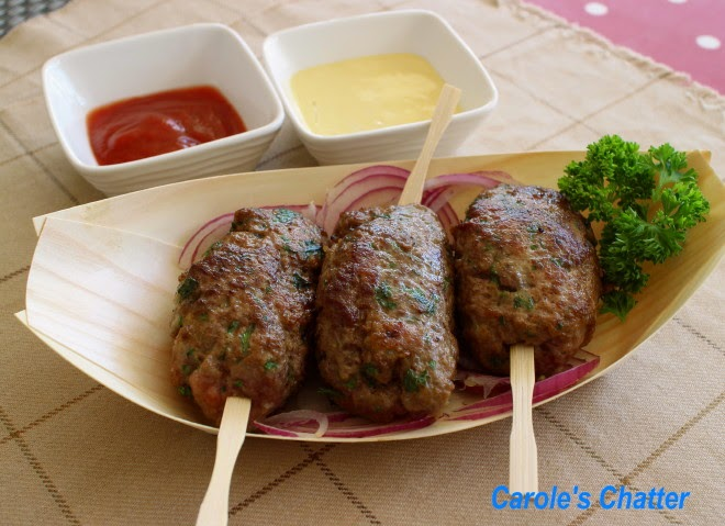 Carole's Chatter: Köfte or Turkish Meatballs – surprisingly simple