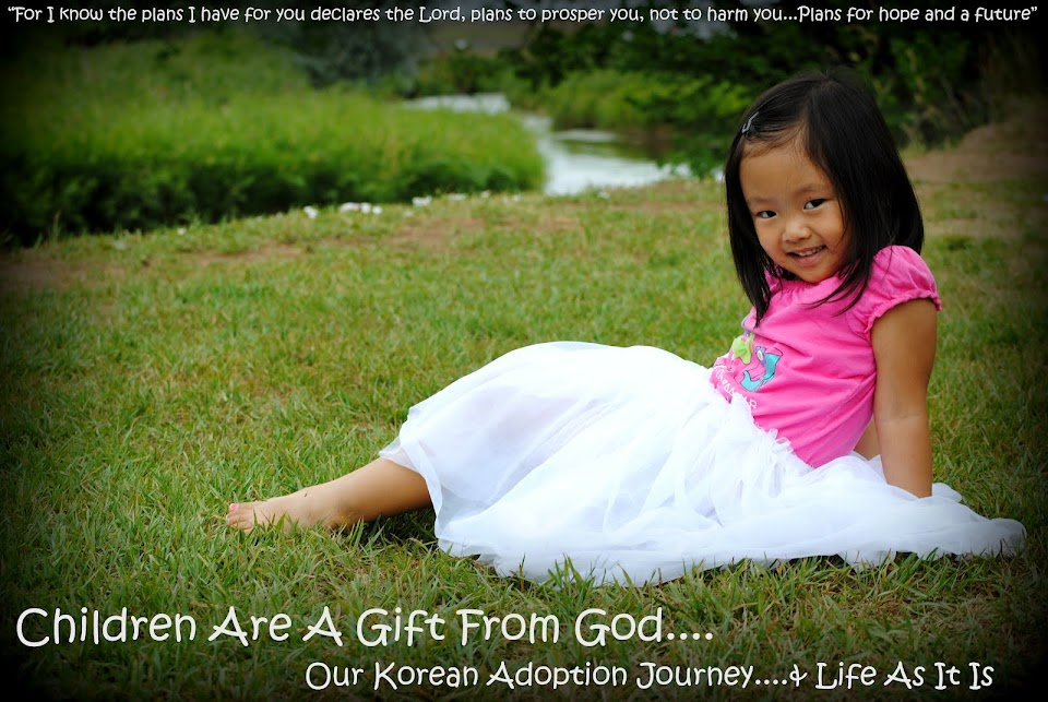 Children are a Gift From God, Our Korean Adoption Journey