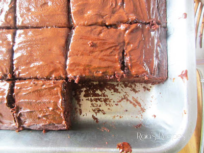Peppermint & Buttermilk Dark Chocolate Cake by Raia's Recipes