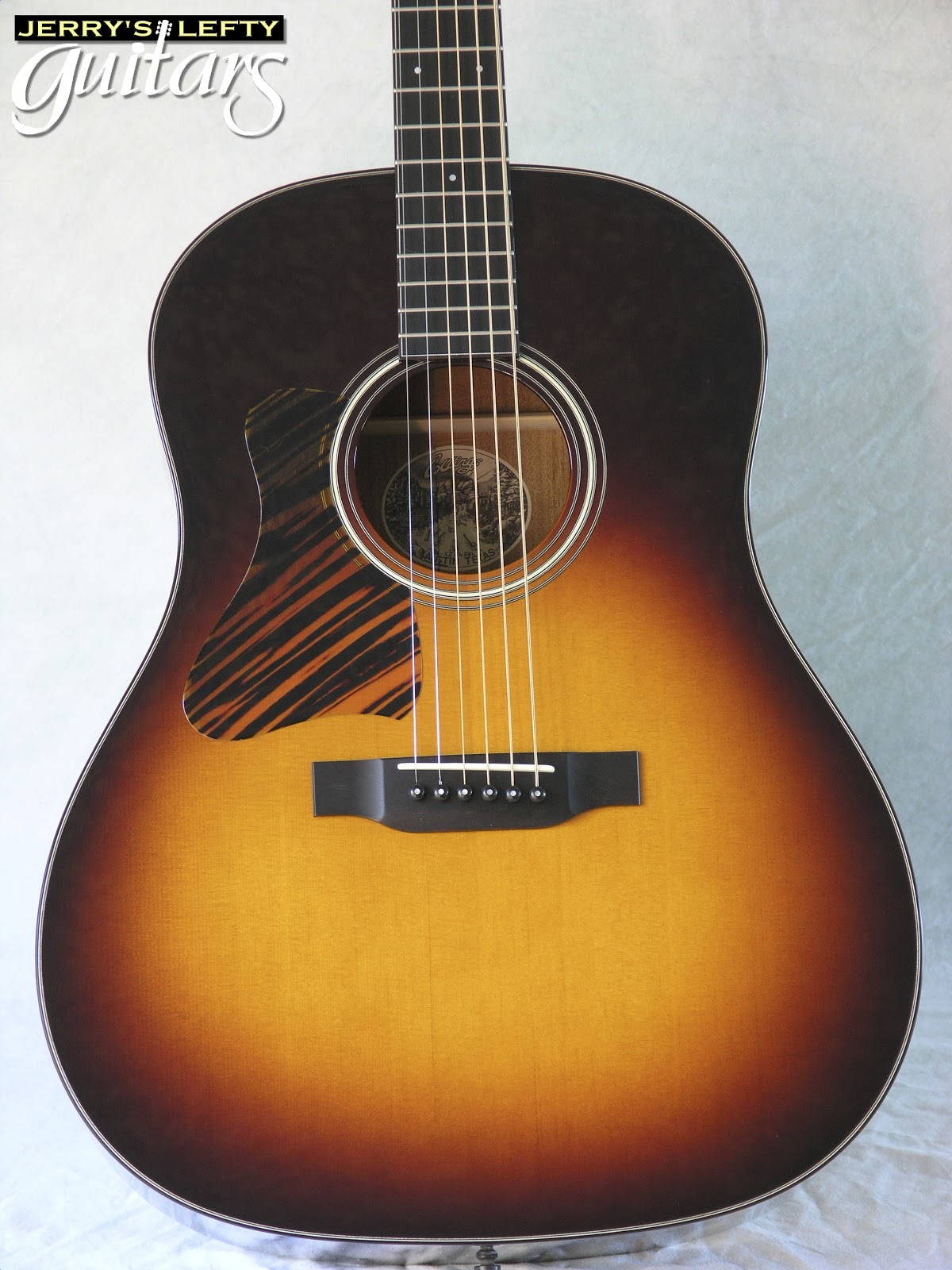 Jerry U0026 39 S Lefty Guitars Newest Guitar Arrivals  Updated Weekly   Collings Cj Custom Left Handed