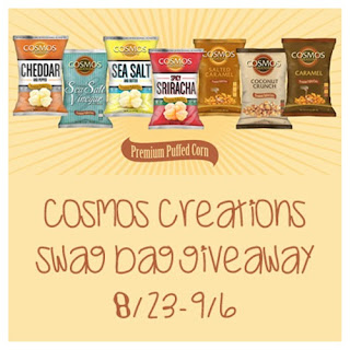 Cosmos Creations Swag Bag #Giveaway