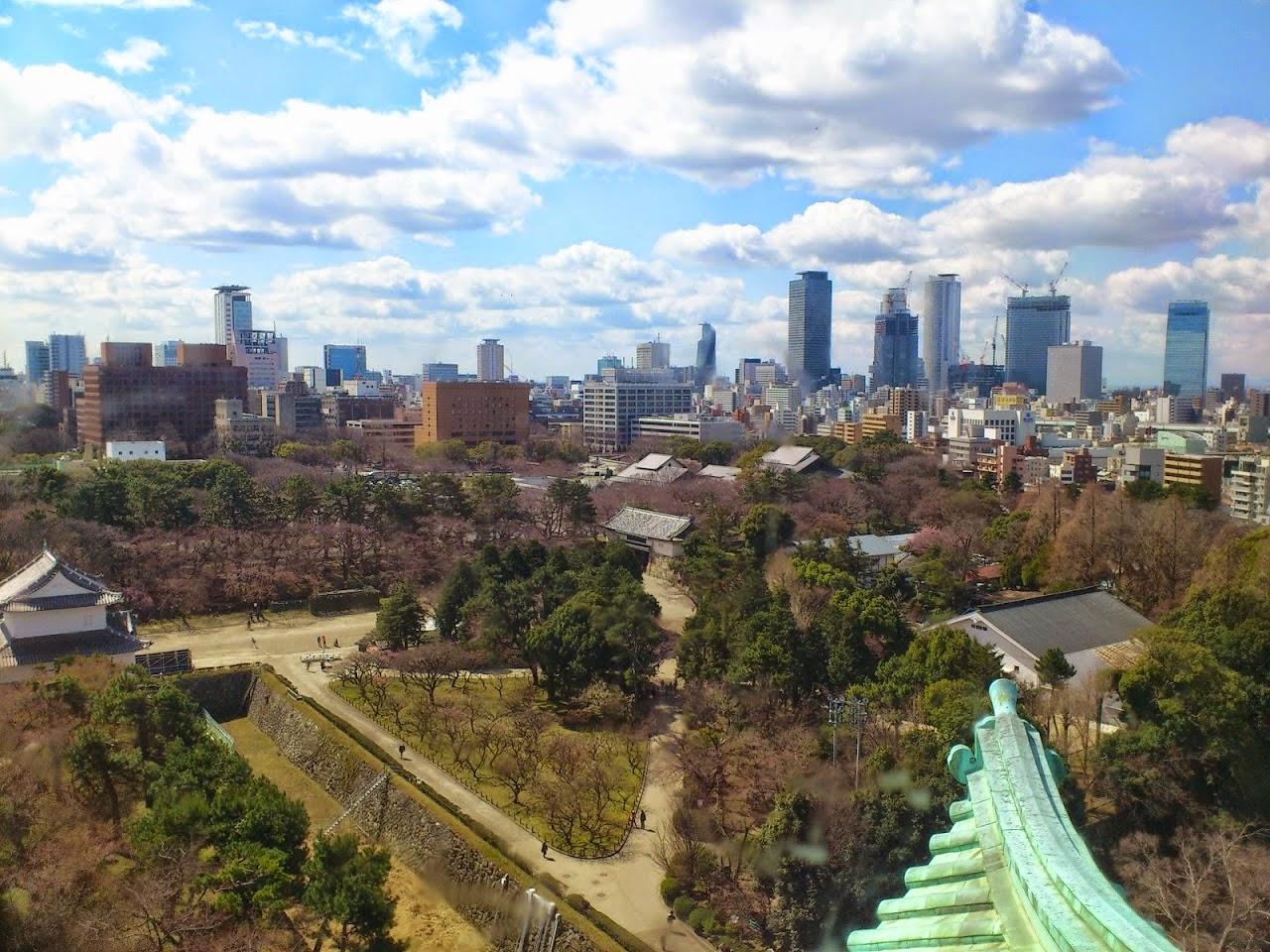 Japanisches Dach schüleraustausch in 2015 16