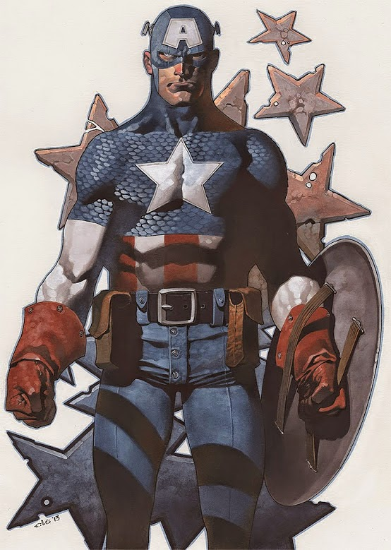 Captain America by Chris Stevens