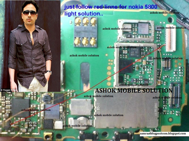 Nokia 5233 LCD Light
