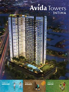 Avida Towers Intima Perspective