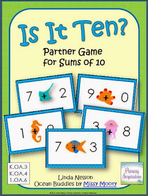 http://www.teacherspayteachers.com/Product/Is-It-Ten-Ocean-Game-for-Sums-of-Ten-1261562