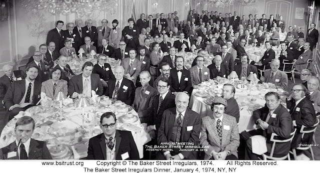 The 1974 BSI Dinner group photo