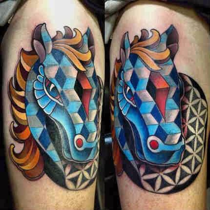 Tatuagens legais de cavalo