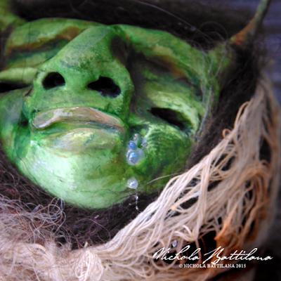 Stinky smelly baby goblin pod - Nichola Battilana