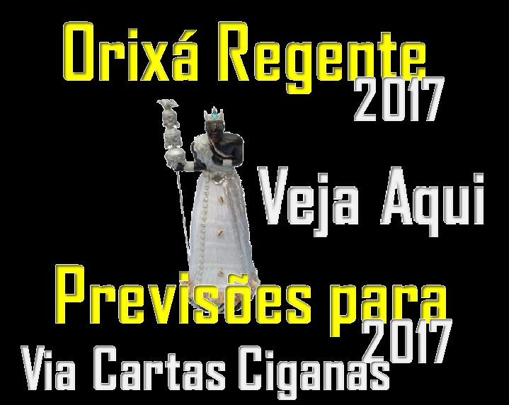 ORIXÁ REGENTE ANO 2017