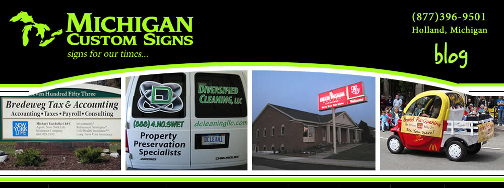 Michigan Custom Signs