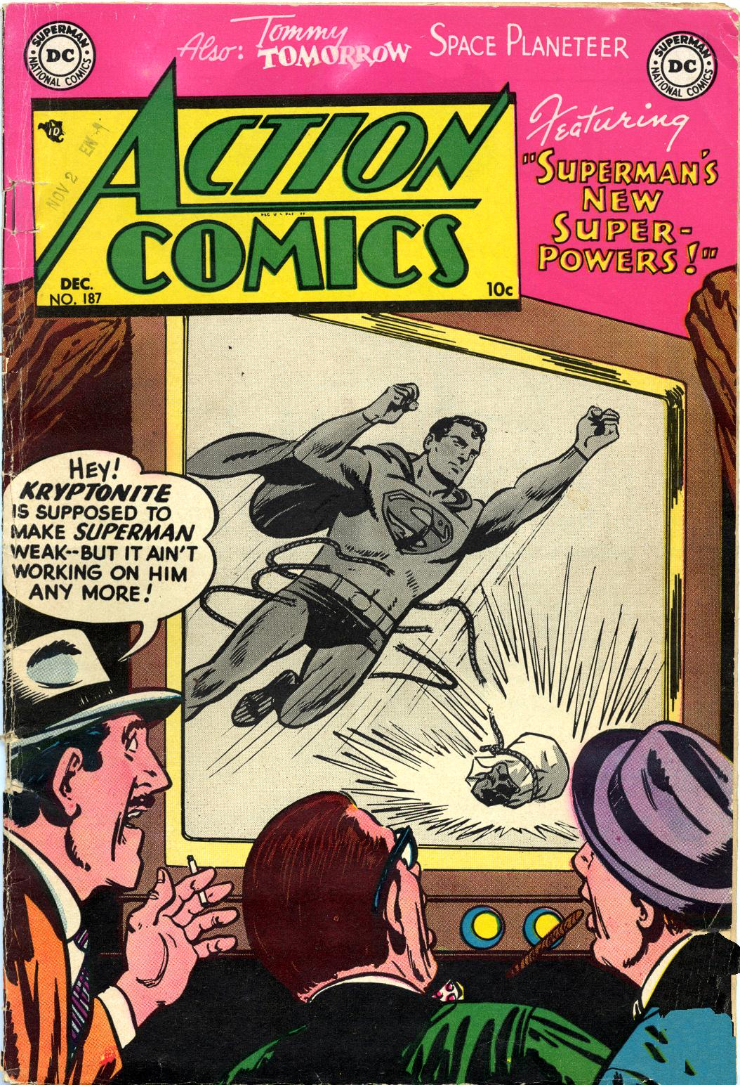Action Comics (1938) 187 Page 1