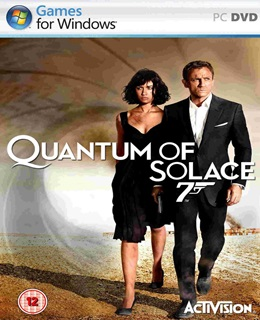 007: Quantum of Solace PC Capa