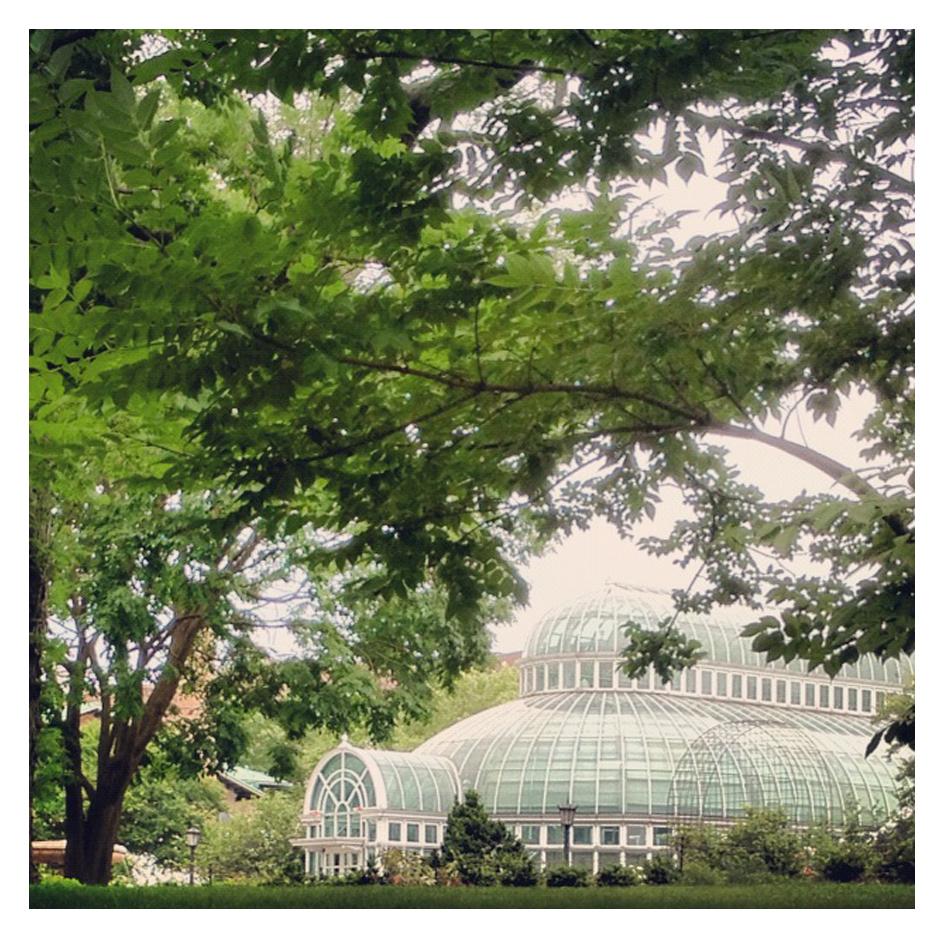 Pigeon Post Brooklyn Botanical Gardens