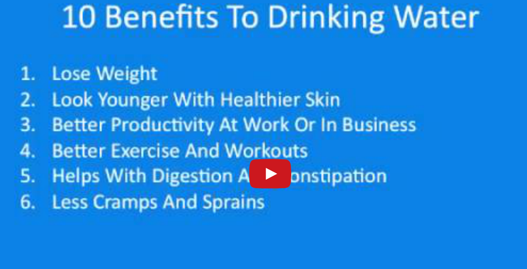 10 Benefits of Drinking Water #1HealthTipDaily