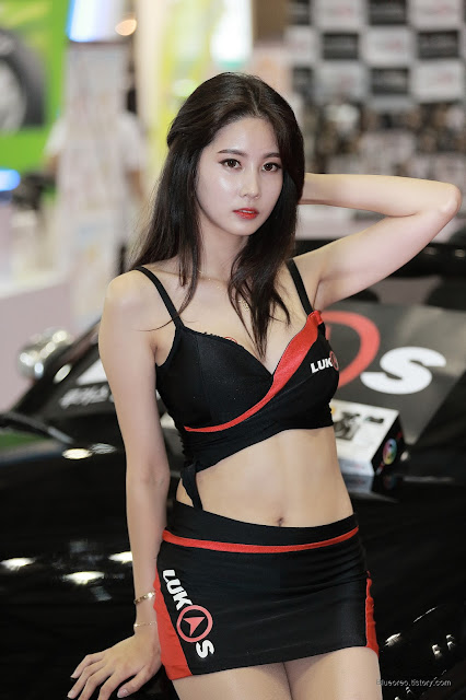 5 [New model] Han Yu Ri - Automotive Week 2015 - very cute asian girl-girlcute4u.blogspot.com