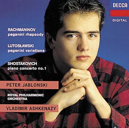 Witold Lutosławski Paganini Variations Peter Jablonski Vladimir Ashkenazy