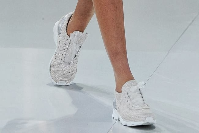 Chanel Couture Trainers At Paris Couture Week