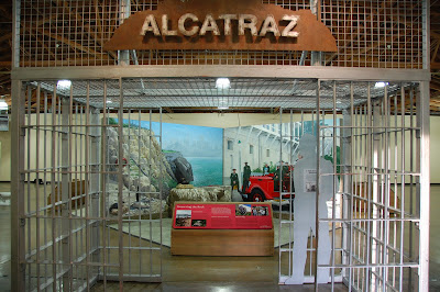 Alcatraz Island Exhibit at Ellis Island Museum