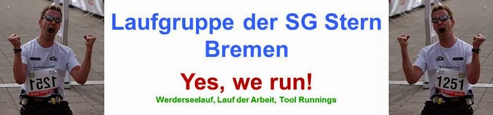 Laufgruppe der SG Stern Bremen