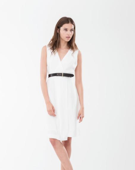 Rebajas SS 2015 fondo de armario vestido blanco