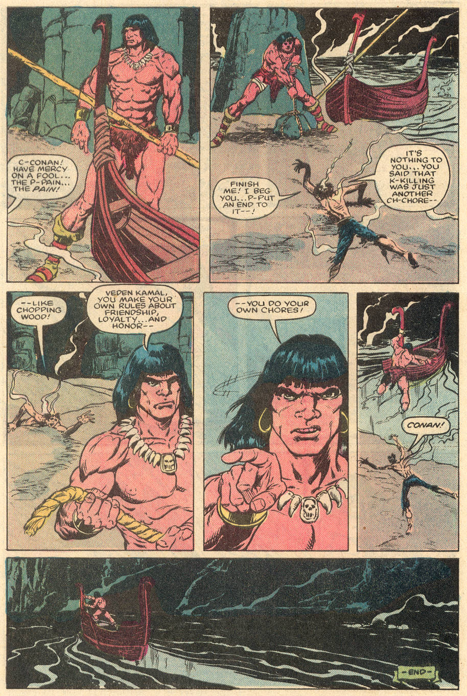Conan the Barbarian (1970) Issue #164 #176 - English 23