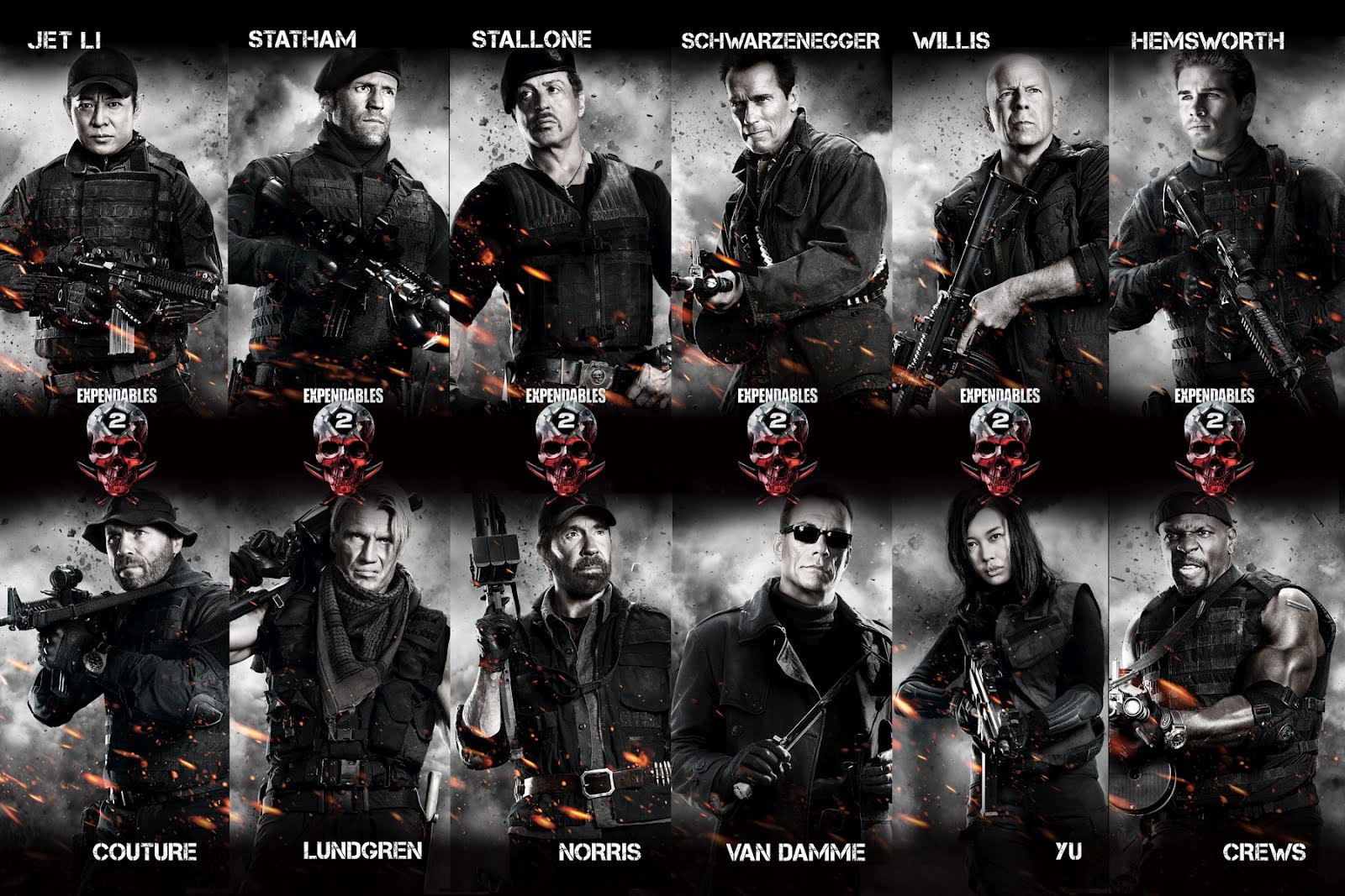 the expendables 2 - an explosively outstanding action film with a