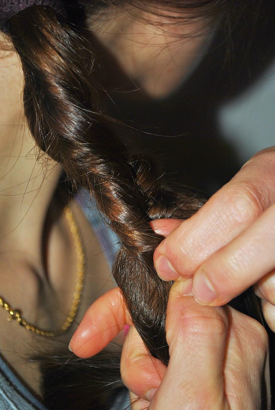 sport i długie włosy