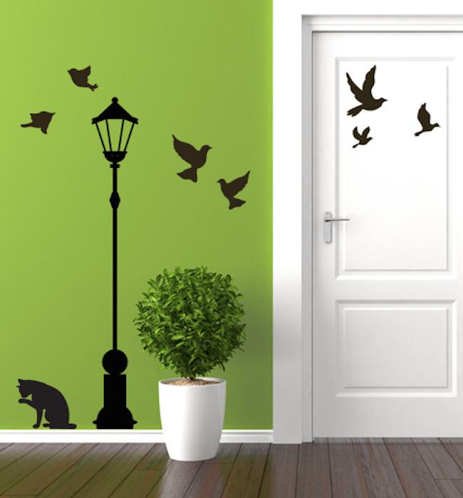 Stickers Murali Animali. Awesome Fabulous Stunning Interesting ...