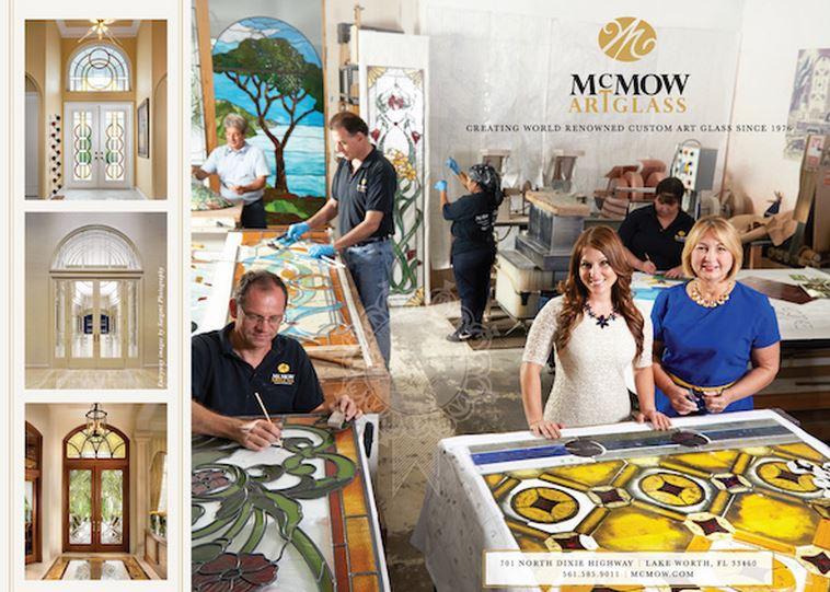 Must See this Saturday, click McMow ArtGlass