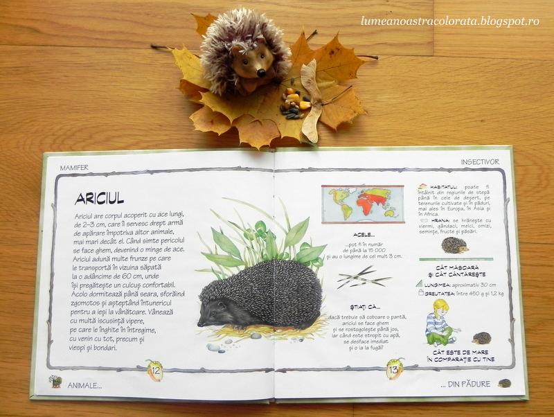 Ariciul și Animalele din Pădure, editura Didactică și pedagogică