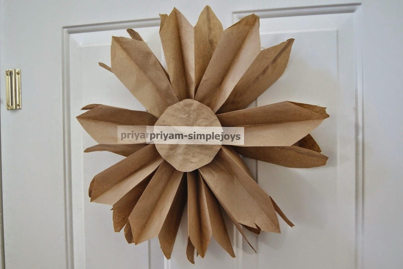 Simplejoys Paper Bag Flower