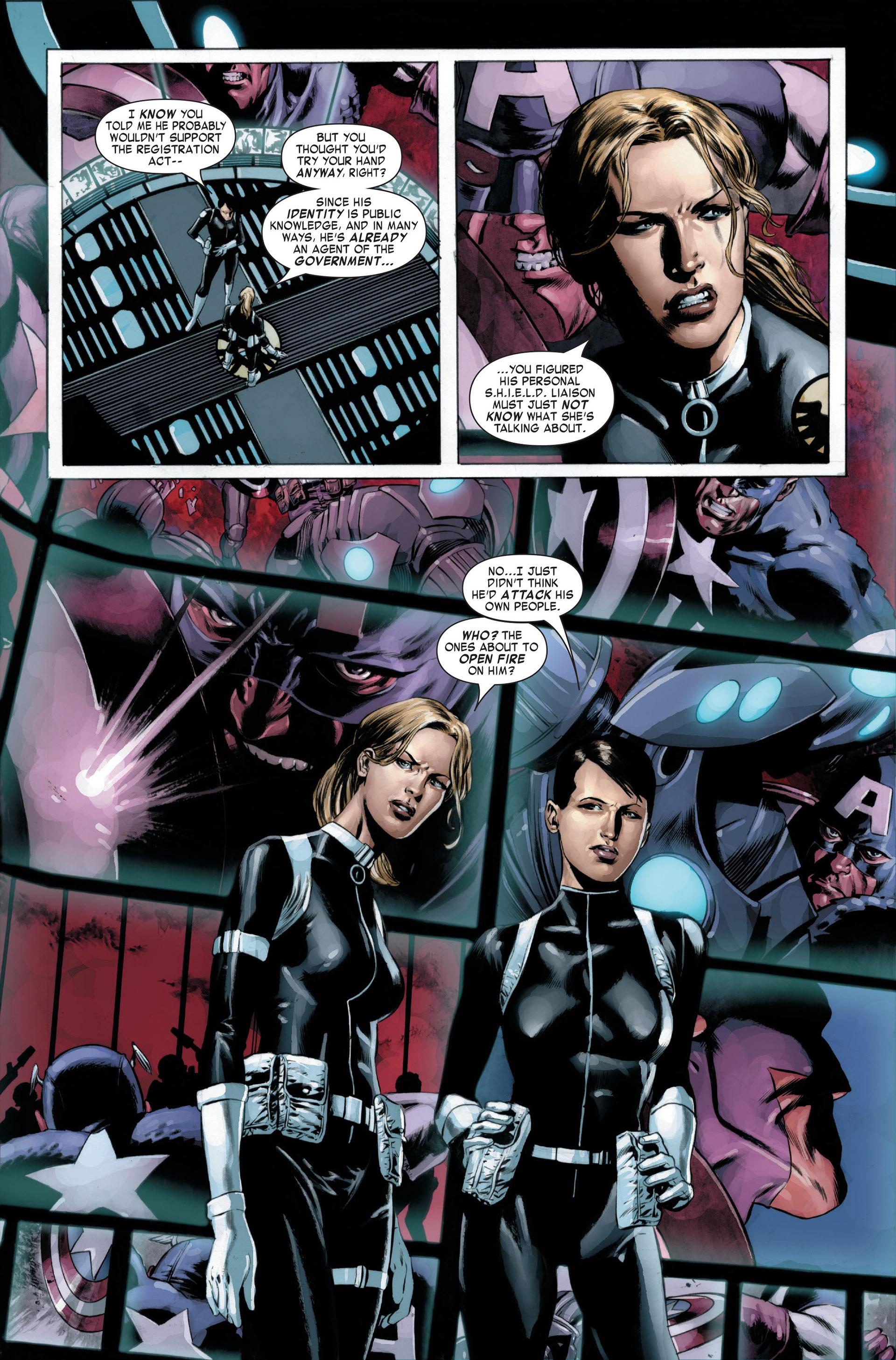 Captain America (2005) Issue #22 #22 - English 4