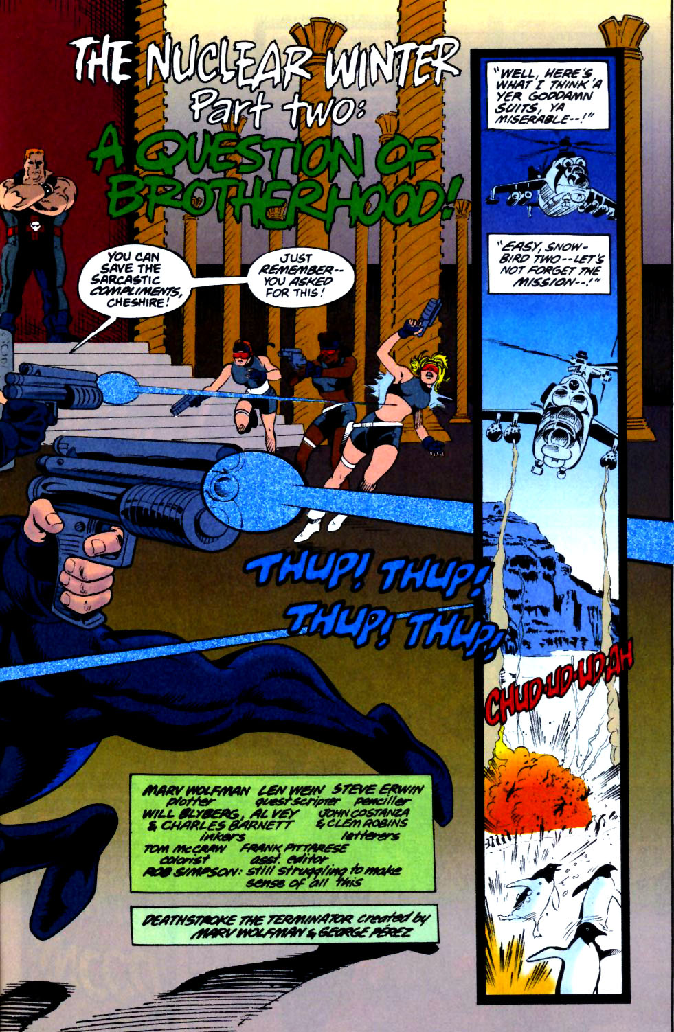 Deathstroke (1991) Issue #18 #23 - English 4