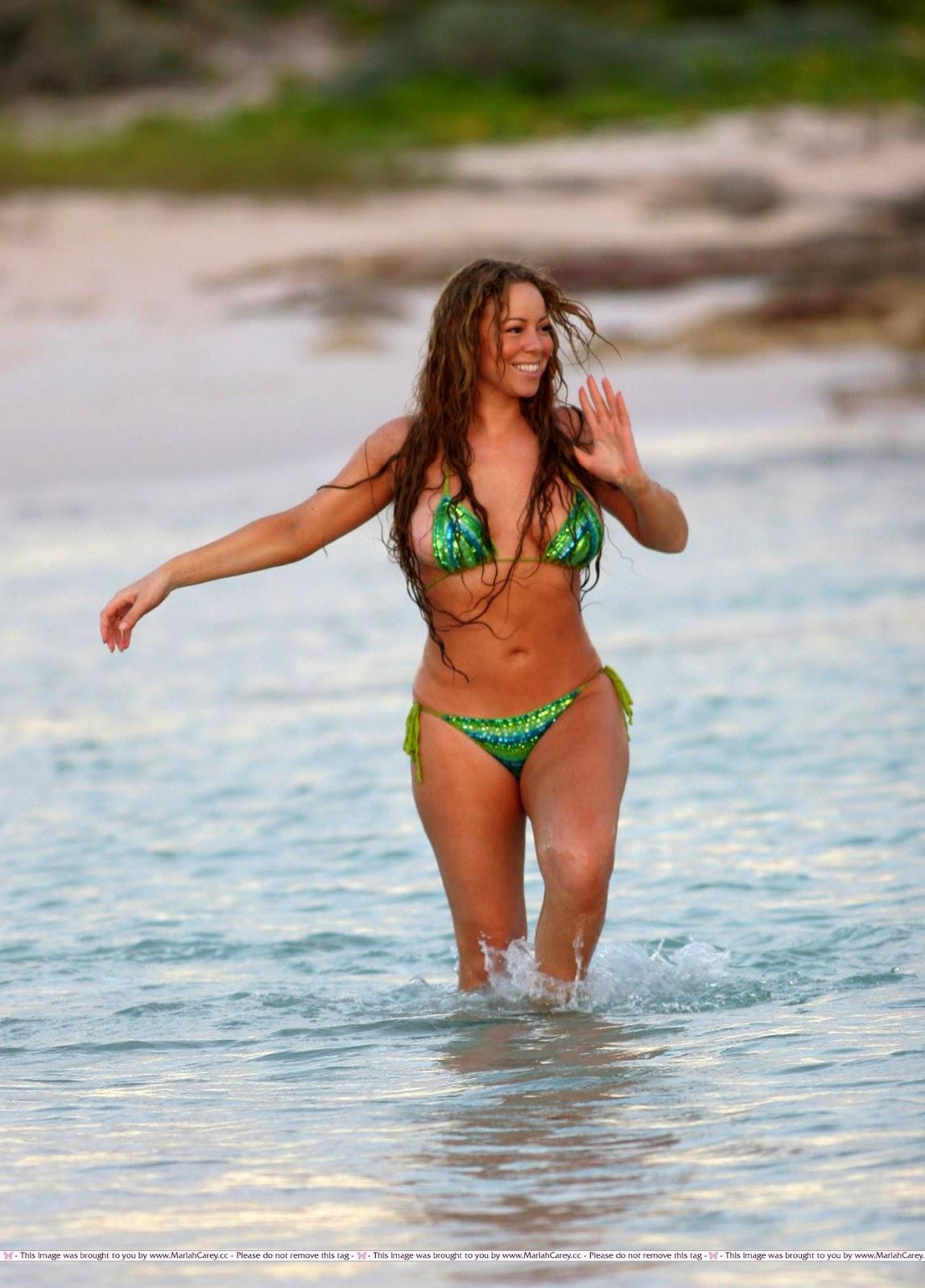 Bikini carey mariah picture